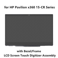 for HP Pavilion 15 cr0211ng 15 cr0002ur 15 cr0003ur 15 cr0004ur 15 cr0005ur LCD Screen Display Touch Glass Digitizer Assembly
