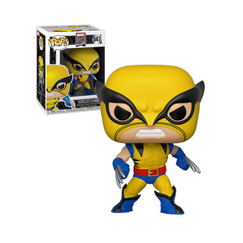 Funko Pop MARVEL 80YEARS WOLVERINE #547 Vinyl Action Figure Dolls Toys 1