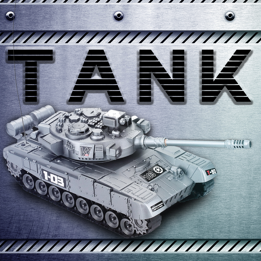 RC War Tank radio tank charger battle launch cross-country tracked remote control vehicle Hobby boy toys for kids children Gift