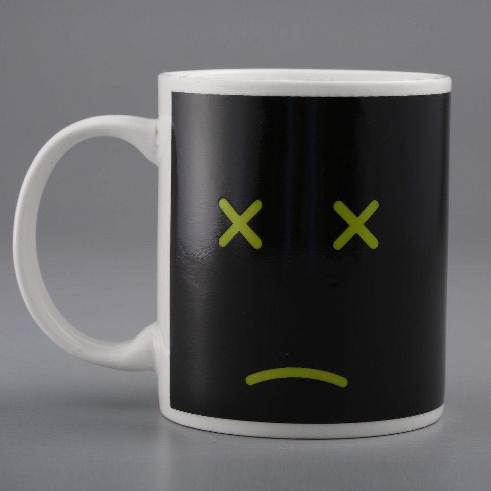 Heat Changing Mug Color Cup Coffee Sensitive Magic Tea Hot Reactive Cold Ceramic