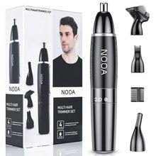 Recortador de nariz y Oreja 4 en 1 para hombres, máquina para cortar el pelo, afeitadora, nariz, tondeuse
