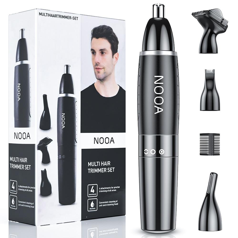 4 em 1 nariz e orelha trimmer para homens remoção do cabelo nariz corte de cabelo máquina barbear depilador clipper corte pelo nariz tondeuse