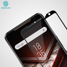 עבור Asus ROG Phone II 2 טלפון השני מזג זכוכית Nillkin CP + פרו נגד פיצוץ מלא כיסוי מסך מגן זכוכית סרט עבור Asus ROG טלפון השני