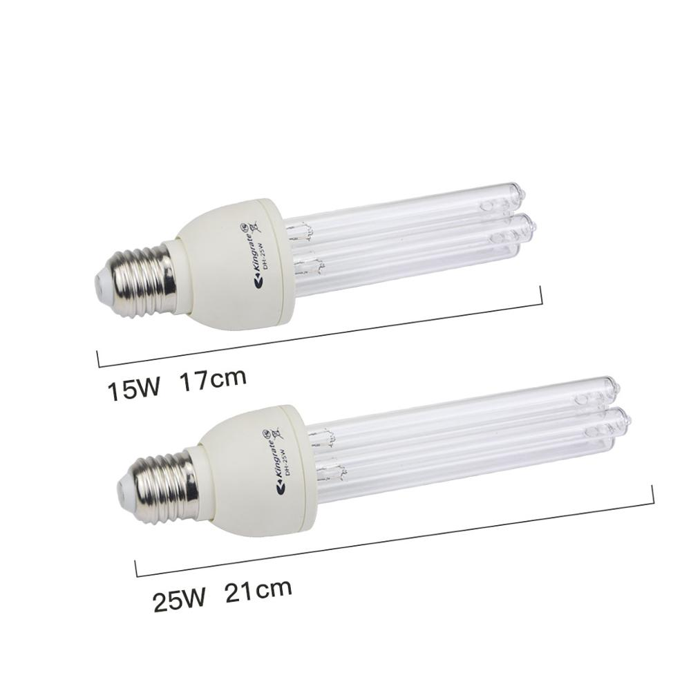 Image 2 - 15W 25W 50W LED UV lamp Germicidal Disinfection light Bulb UVC Ultraviolet Sterilizer Clean Air Deodor kill Bacterial 110V/220VLED Bulbs & Tubes   -