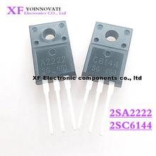 100 uds/lote 2SA2222 2SC6144 50 Uds A2222 + 50 Uds C6144 TO 220F IC original nuevo