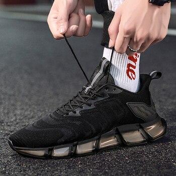 Zapatos informales De malla para Hombre, zapatillas deportivas De alta gama, transpirables,...
