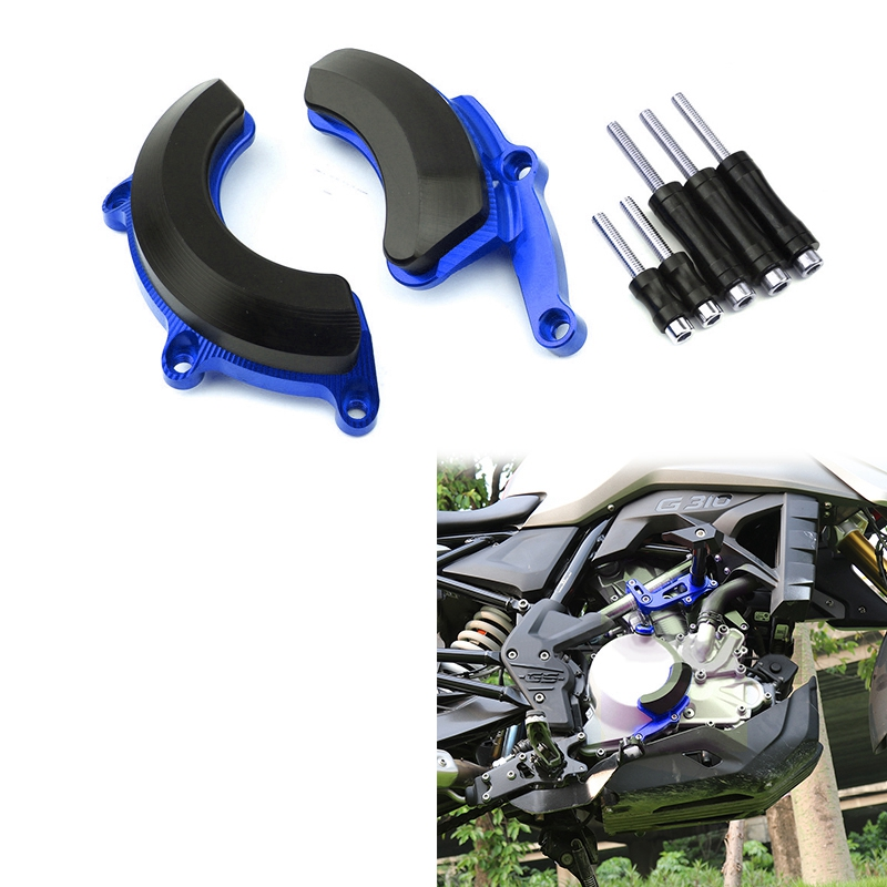 Engine Stator Alternator / Pulse Timing Cover Guard Crash Pad Slider Protector for BMW-G310R G310R G310 R 2017-2019