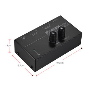 Image 5 - PP500 telefon preamplifikatör fono Preamp bas tiz denge ses tonu EQ kontrol panosu ses Metal Stereo ab tak
