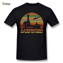 Graphic Men Chernobyl Nuclear Power Station Disaster Radiation 3 6 Roentgen Camiseta Funny Unique Design Graphic For Man T SHIRT nuclear power plant design using gas cooled reactors