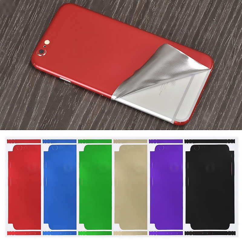 New Colorful Ice Film Skin For Apple IPhone 11Pro X XR XS MAX Mobile Phone 5S 6S 7 8 Plus Full Cover Soft Back Film Coque Fundas