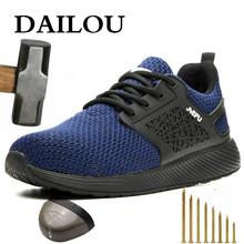 Shoes Safety-Boots Steel Outdoor Big-Size Men Women DAILOU And 48 No Non-Slip-Deodorant