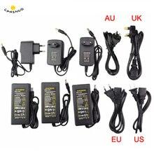 Alimentation LED adaptateur dalimentation AC110V 220V à cc 5V 12V 24V 1A 2A 3A 5A 7A 8A 10A pour Led bande lampe éclairage alimentation Led prise de conducteur