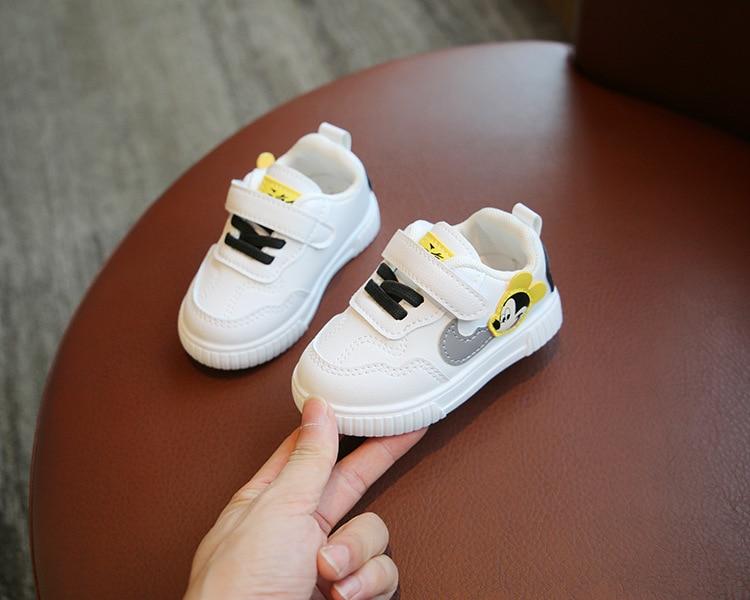 calçado infantil respirável da moda curto e macio para meninos, 2021