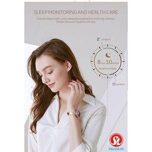 Image 3 - ใหม่ล่าสุดแฟชั่นผู้หญิงสมาร์ทนาฬิกาหน้าจอสีIP68กันน้ำหญิงสรีรวิทยาเตือนสำหรับApple IOS Bluetooth PK S9