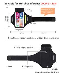Спортивные повязки для бега, сумка для Samsung S20, ультра карман на молнии, автомобильный ремень для ключей, велосипедные повязки для iPhone 11 Pro Max XR Xiaomi 9 8