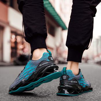 Męskie buty Plus rozmiar 47 męskie obuwie wysokiej jakości 2020 wiosna jesień siatkowe trampki lekkie oddychające męskie buty sportowe 46- 4 tanie i dobre opinie SHUIYIJIA FLYKNIT Buty casualowe RUBBER Sznurowane Dobrze pasuje do rozmiaru wybierz swój normalny rozmiar podstawowe