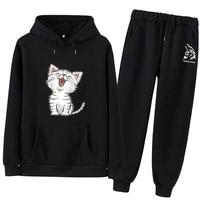 a574 Women's sports suit Large Plus Size tracksuit T Shirt+pants two piece set Top And Pant clothes hoodies Set