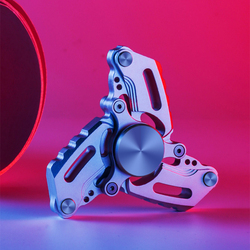 Mano Spinner Avanzata Trifoglio EDC Agitarsi Mano Spinners Autismo ADHD Finger Hobby Giocattolo per Adulti Spinners Messa A Fuoco Alleviare Lo Stress E