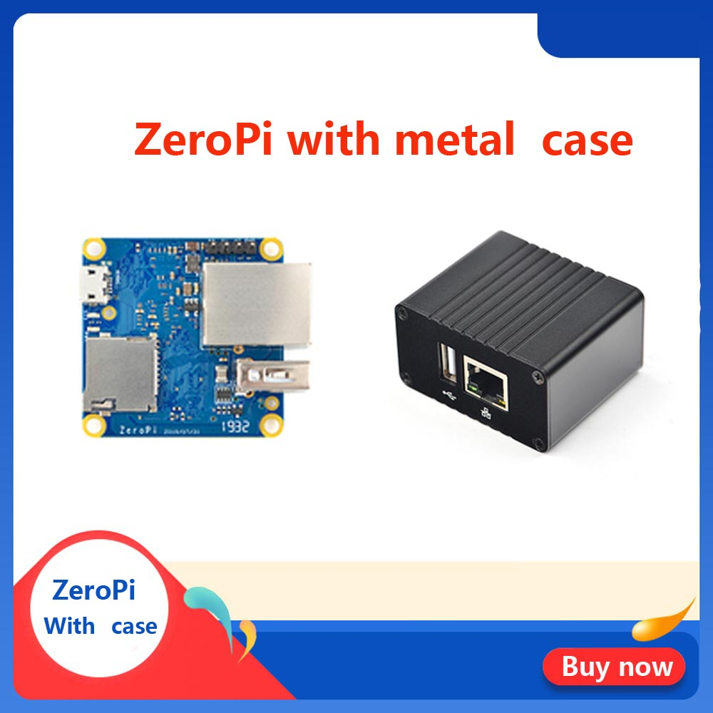 FriendlyARM NanoPi ZeroPi 512MB RAM Gbps Ethernet Cortex A7 Development Board Allwinner Mini Linux Board Pi Zero
