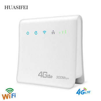 2021 latest unlocked 300Mbps router 4g sim card 4G Wifi router 4G LTE wireless WiFi router supports LAN/WAN port online 32 peopl 1