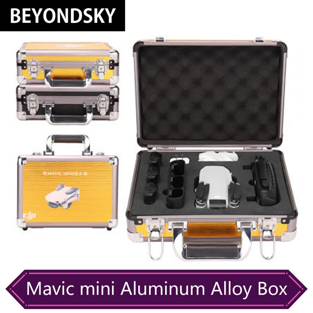 DJI Mavic Mini Accessories Storage Box High Quality Aluminum Alloy Suitcase Portable Aerial Aircraft Waterproof Hardshell Case