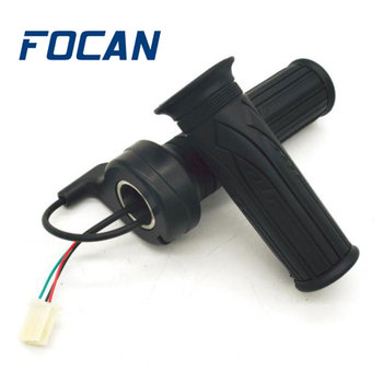 Universal Motorcycle Accelerator Electric Scooter Twist Speed Throttle Grip with 3 Wires Handlebar Grip motorcycle ural sidecar handlebar throttle grip hand grips accelerator control twist grip for bmw k750 ks750 r50 r1 r12 r71