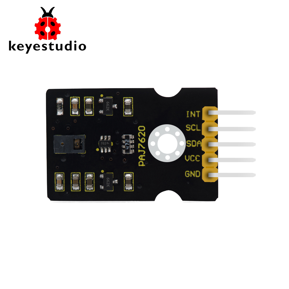 5Pc GY-PAJ7620 Gesture Moving Recognition Sensor Module I2C Breakout for Arduino