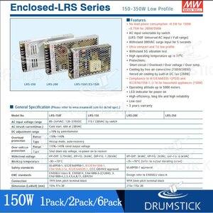Image 5 - Có Nghĩa Là Cũng LRS 350 24 24V 14.6A MEANWELL LRS 350 350.4W Đĩa Đơn Đầu Ra Chuyển Đổi Nguồn Điện