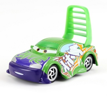 New Disney Pixar 2 And 3 Toy Car McQueen Jackson Storm Ramirez 1:55 Diecast Vehicle Model Children's Birthday Gift image
