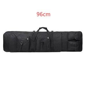 Image 4 - 85 96 120 centimetri di Nylon Del Sacchetto della Pistola di Caso sacchetto di Fucile Zaino per Sniper Carabina Softair Fondina Ripresa Portatile Sacchetti di Caccia accessori