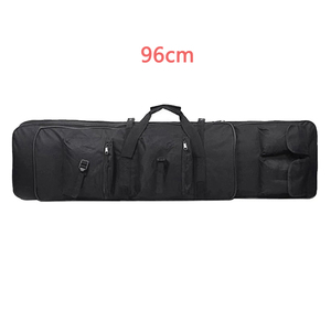 Image 4 - 85 96 120cm Nylon Gun Bag Case Rifle bag Backpack for Sniper Carbine Airsoft Holster Shooting Portable Bags Hunting Accessories