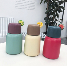New Mini Vacuum Bottles Cartoon fruit Gradient Bottle Sport Fruit Juice Water Cup Stainless Steel Portable 250ML Travel