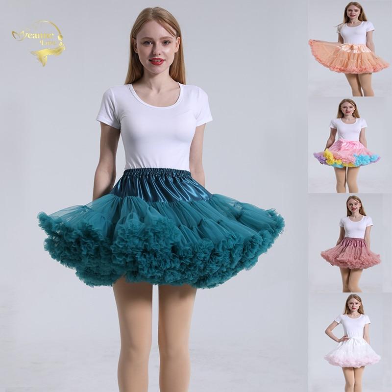 Ball Gowns Short Wedding Petticoats Bridal Underskirt Slip Women Crinoline Tulle Skirt Petticoat Retro Vintage Rockabilly Tutu