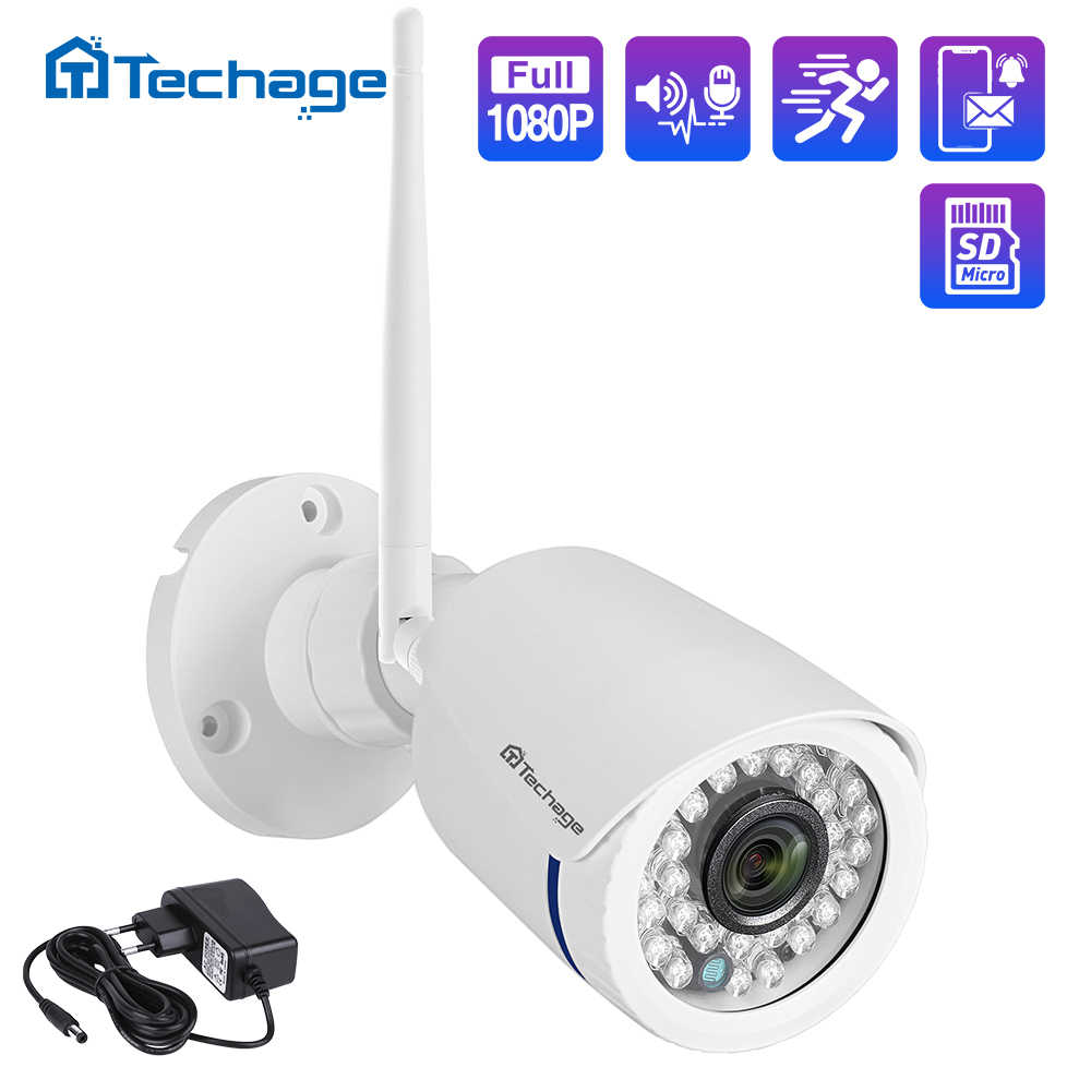 H.265 Draadloze Ip Camera Two Way Audio 1080P 2MP Wifi Camera Onvif Ir Nachtzicht Waterdichte Tf Card Cctv video Surveillance