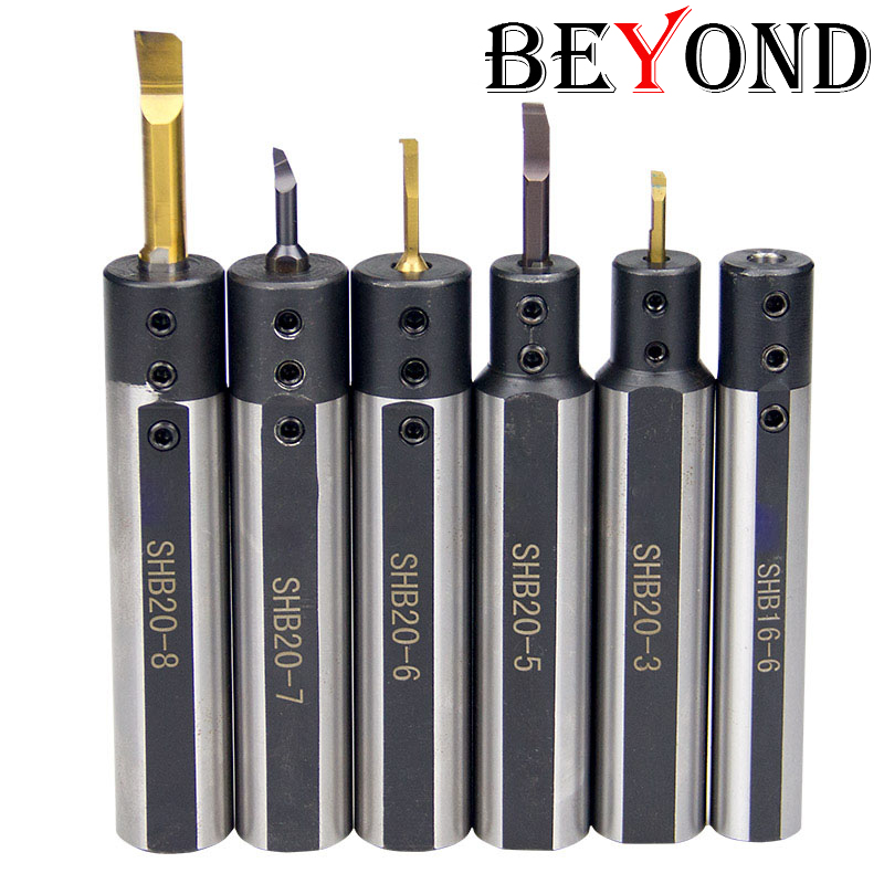 12mm Turning Tool Holder Carbide Boring Bar Accessory SHB Bore Inners Hole 6mm