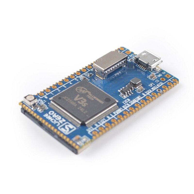 Lichee pi zero allwinner v3s arm Cortex A7 núcleo cpu placa de desenvolvimento linux iot internet das coisas|Circuitos integrados|   -
