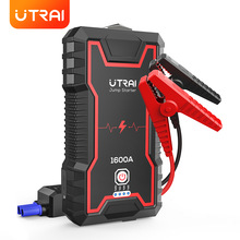 UTRAI Jump Starter Car Booster Power Bank Battery 1600A 12V Safety Hammer Auto Starting