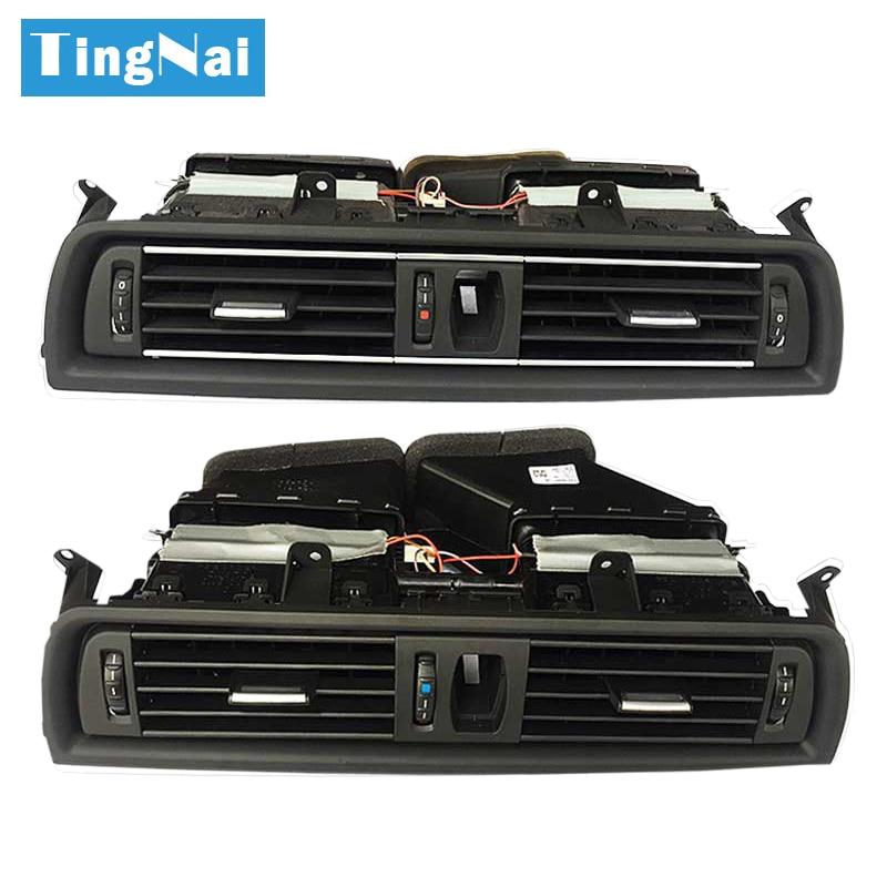 Armaturenbrett Zentrale Klimaanlage AC Vent Grille Komplette Montage Für BMW 5 Series F10 F11 F18 64229166885 64229209136