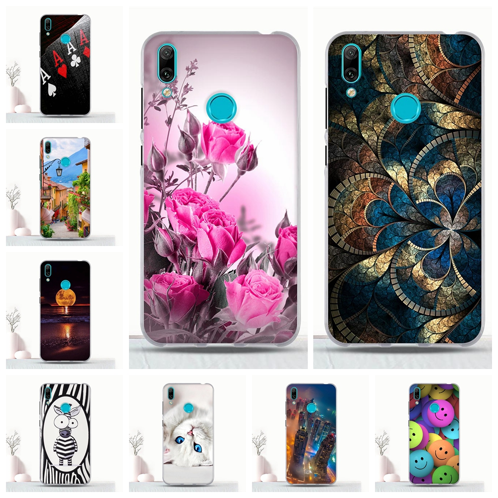 Cover For <font><b>Huawei</b></font> <font><b>Y7</b></font> <font><b>2019</b></font> <font><b>Case</b></font> Silicone TPU For <font><b>Huawei</b></font> <font><b>Y7</b></font> prime <font><b>2019</b></font> Coque Phone Protective <font><b>Case</b></font> For <font><b>Huawei</b></font> <font><b>y7</b></font> prime <font><b>2019</b></font> Bumper image