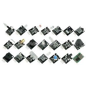 Image 5 - 45 w 1 czujniki moduły Starter zestaw do Arduino UNO R3 Mega 2560 Nano lepiej niż 37in1 zestaw czujników 37 w 1 zestaw czujników zestaw do samodzielnego montażu