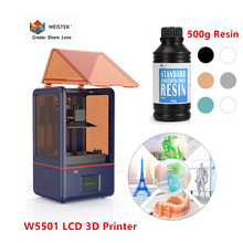 Lcd-Screen 3d-Printer WEISTEK Uv-Sensitive-Resin 2K 120x60x155mm