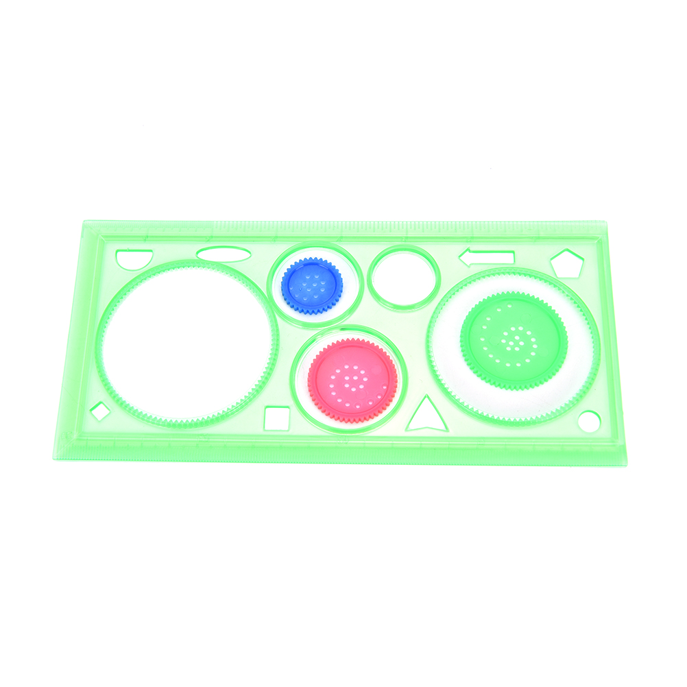 1 Set Spirograph Geometric Ruler Magic Drawing Board Student Constantly Changing Drawing Tool Stationery Supplies