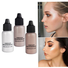 Face Concealer Makeup Liquid Foundation Shimmer Primer Ultra-Concentrated Illuminating Bronzing Base Cosmetic