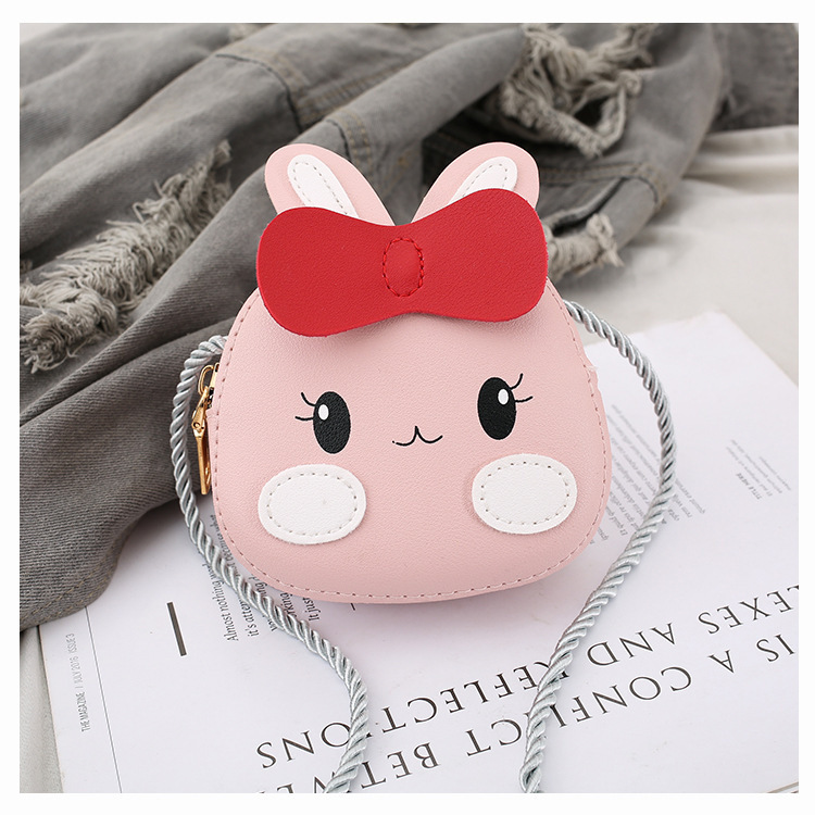 Child Rope Women's Primary School Destroyed Back Students Bag Small Oblique Love Child Money-Child Hanging Men's Can Pack Childr