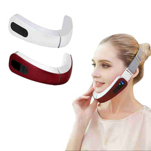 Micro-current Facial Massager Smart Lazy Slimming Face Device Thin Face Corrector V Facial Thin Mass