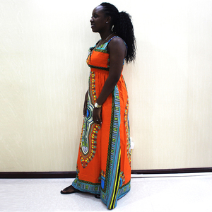 Image 3 - Dashikiage talia przód z rozporkiem sukienka na cienkich ramiączkach elegancka dopasowana, w kwiaty drukuj bez rękawów sukienka jesień nowoczesne Lady kobiety sukienek