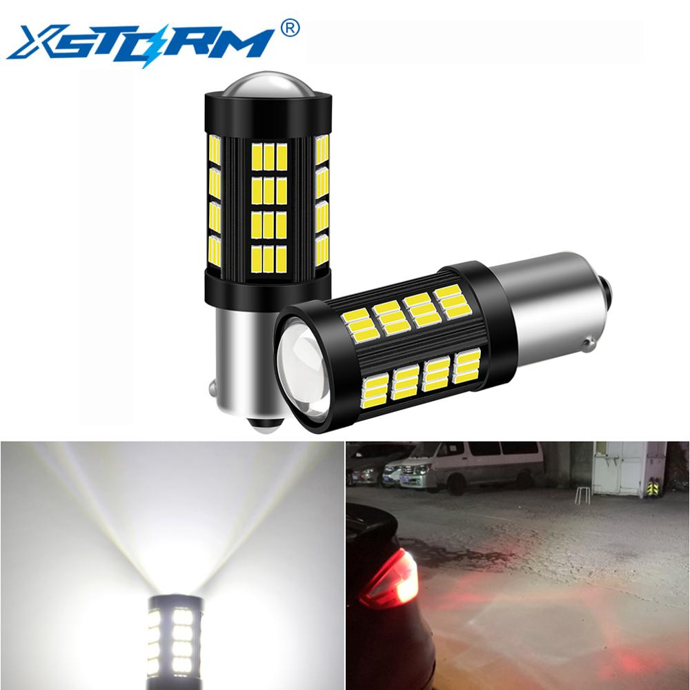 2pcs Signal Lights 1156 BA15S BAU15S 1157 BAY15D T20 7443 T25 3157 LED Car Turn Signal Lights Brake Reverse Lamp Auto 12V image