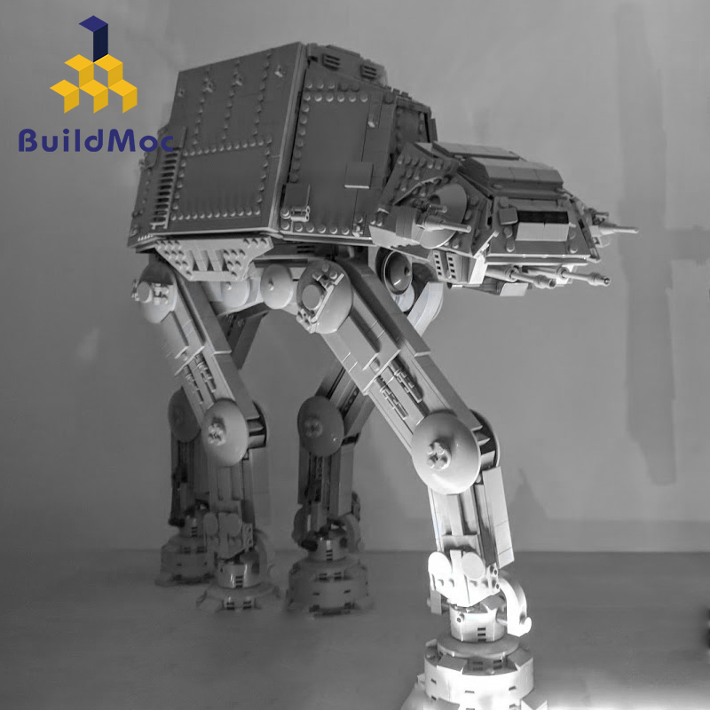 Buildmoc Star Wars ATAT 05130 Toy Force Awakens Atat Walker Set Building Blocks Bricks Compatible With Lepining Star Toy Wars