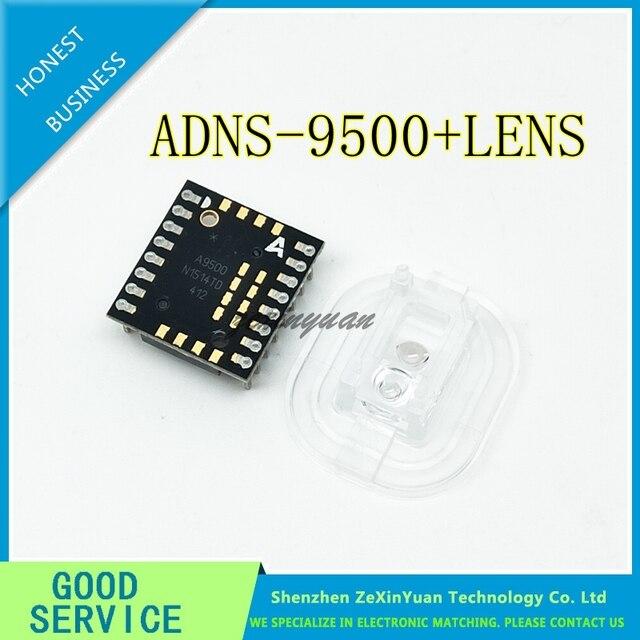 ADNS 9500 + ADNS 6190 002 A9500 DIP16sensor Met Nieuwe Optische Lens Nieuwe & Originele ADNS9500