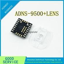ADNS 9500 + ADNS 6190 002 A9500 DIP16sensor with new Optical lens NEW&ORIGINAL ADNS9500